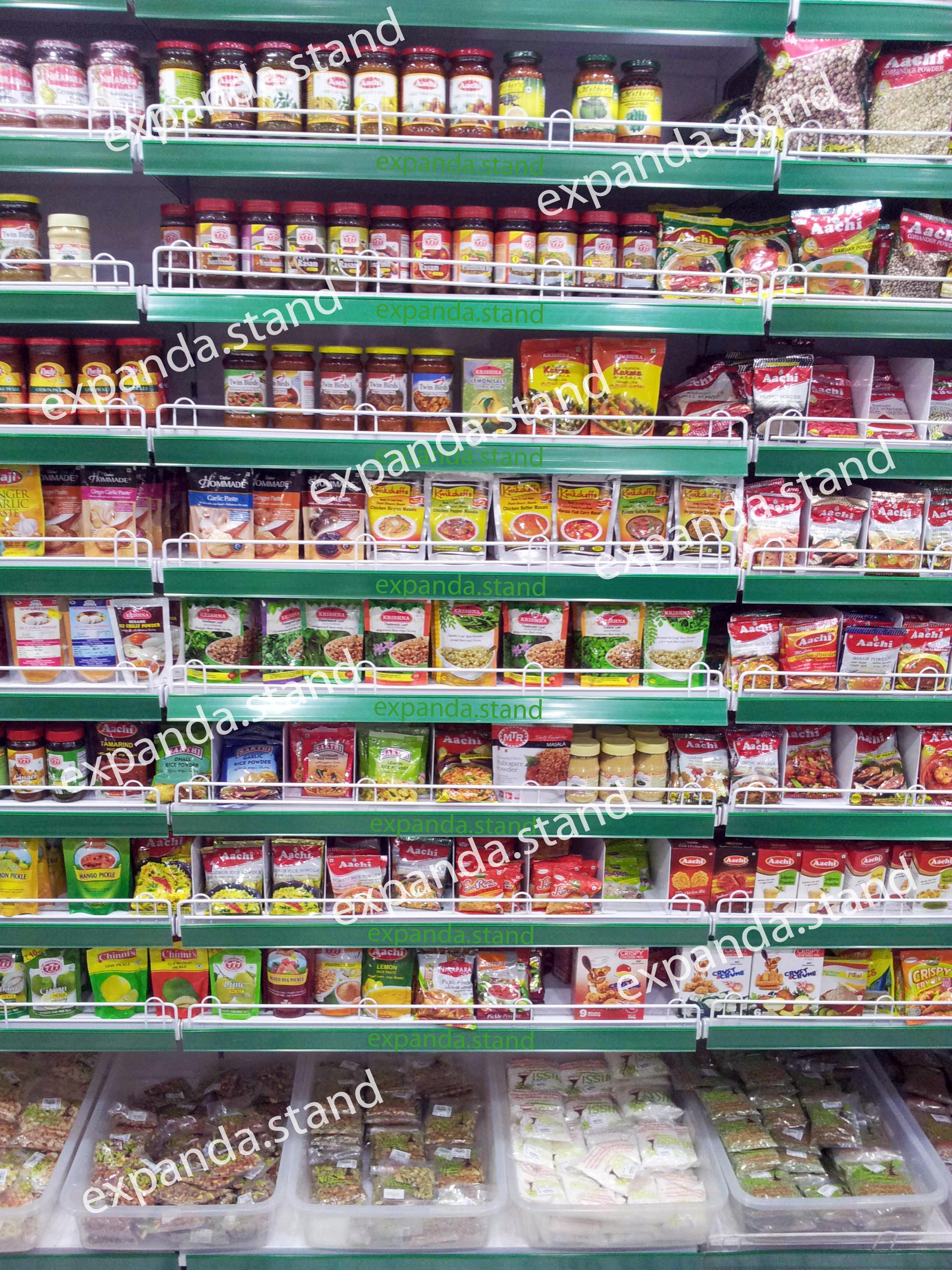 Shelvings Wall Supermarket Racks Expanda Stand